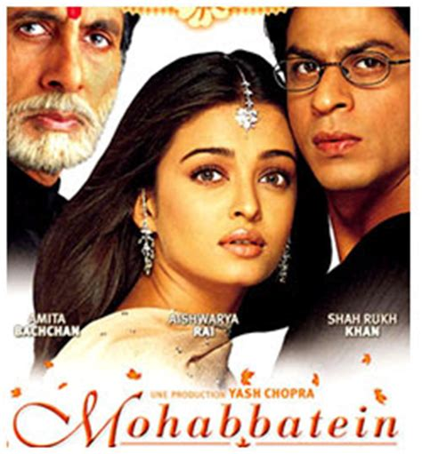 film india lama mohabbatein mohabbatein movie famous dialogues by sharukh khan