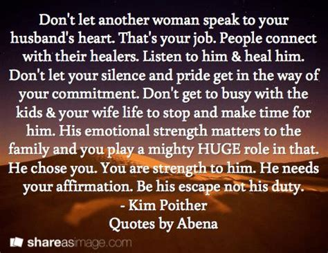 7 Ways To Make Your Partner Listen by Don T Let Another Speak To Your Husband S