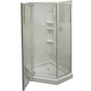 one neo angle shower stall maax himalaya 101694 084 38x38 neoangle shower stall kit