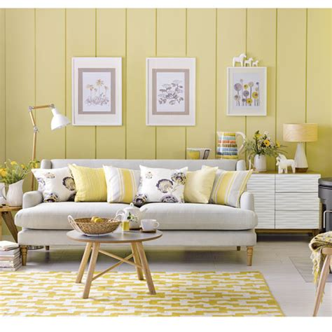 Mustard Yellow Home Decor by Grey And Yellow Living Room Ideas And D 195 169 Cor Inspiration