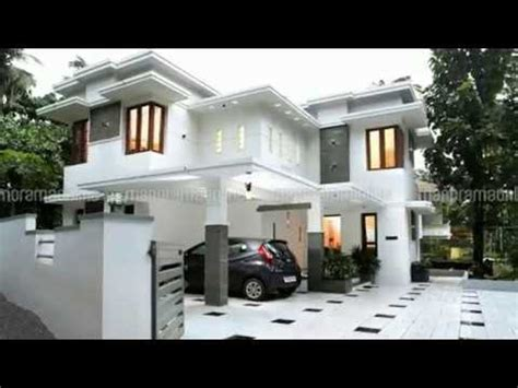 Free Modern House Plans double floor house for 15 lakh modern home design