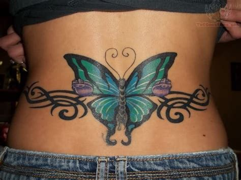 butterfly tattoo on lower back butterfly tattoos page 9