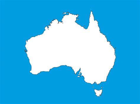 australia map images free australia map free vector