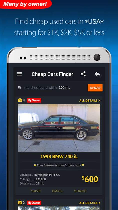 Used Car Apps For Android by Cheap Cars For Sale Autopten Android Apps On Play