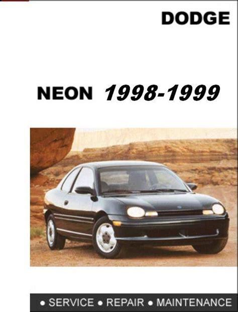 hayes car manuals 1998 dodge neon engine control dodge neon 1998 1999 factory service repair manual download m