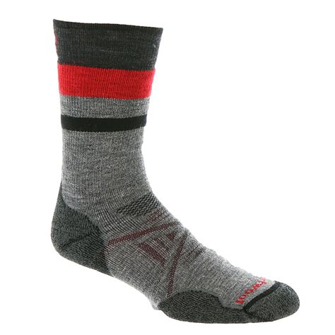 pattern socks mens smartwool phd outdoor medium pattern crew socks men s ebay