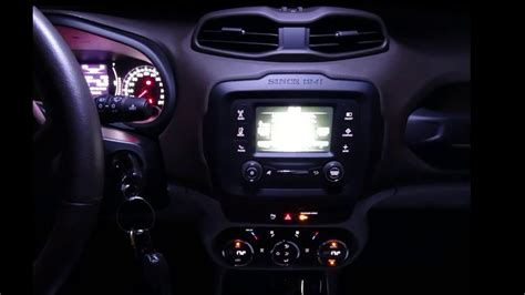 jeep interior lights jeep renegade interior led light appearance