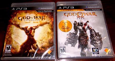 Ps3 God Of War Saga lote videojuegos god of war ascension y saga collection ps3 845 00 en mercado libre