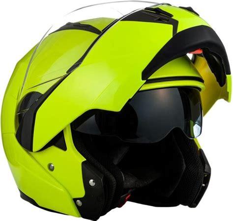 Motorrad Helm Neon by Bol Soxon Neon Yellow L Helm Motorhelm