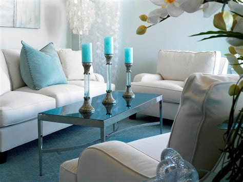 blue white living room winter color trends living alaska hgtv