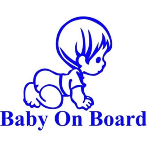 Baby On Board 20 baby on board decal stickers 4 5 inches wide