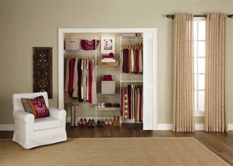 rubbermaid vs closetmaid rubbermaid fasttrack freeslide expandable closet organizer