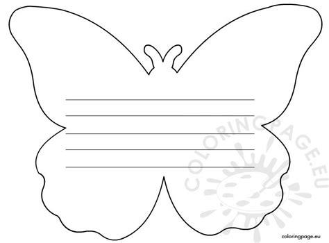 Butterfly Writing Paper Template search results for flower writing paper template