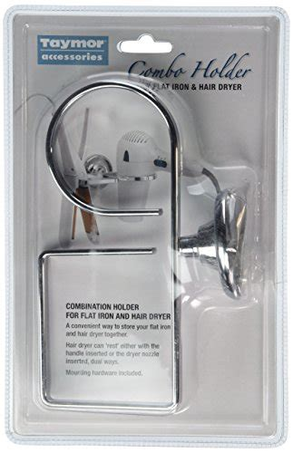 Taymor Flat Iron And Hair Dryer Holder flat iron and dryer holder combo 063013675757 toolfanatic