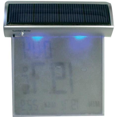 Termometer Vixion thermometer tfa vision solar silver from conrad