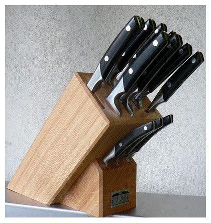 bloc de couteaux de cuisine professionnel conceptions de
