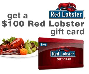 Red Lobster Gift Cards - 100 red lobster gift card fetch deals daily specials