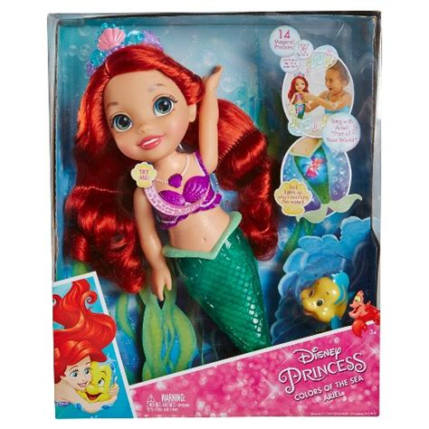 disney princess colors disney princess colors of the sea ariel target