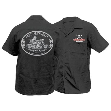 motorcycle apparel lt custom motorcycle work shirt babbitts yamaha partshouse