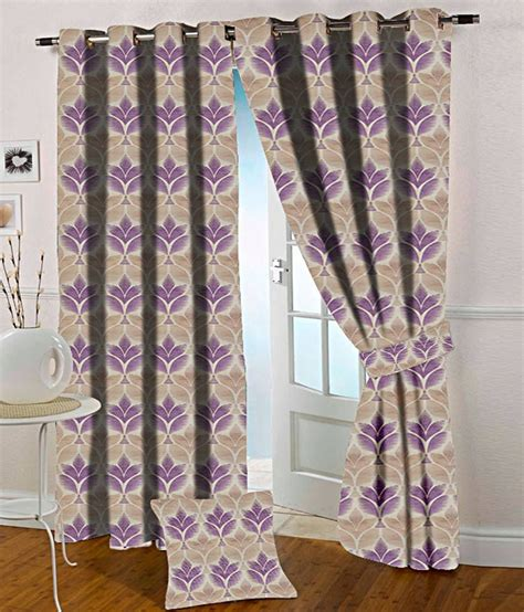 purple and beige curtains presto purple and beige abstract polyester window curtain