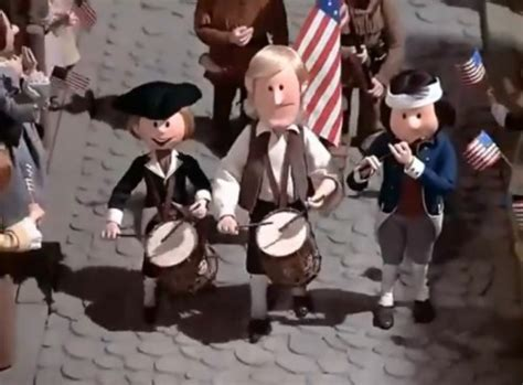 new year 1976 sing a the 4th of july parade from