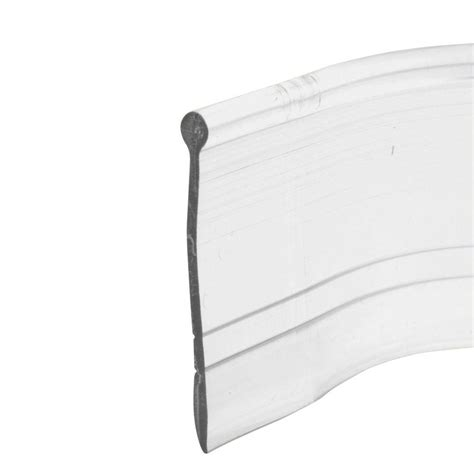 Prime Line 37 In Clear Vinyl Shower Door Bottom Seal M Shower Door Bottom Seals