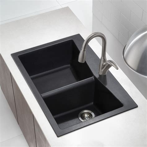 black kitchen sink granite kitchen sinks kraususa com