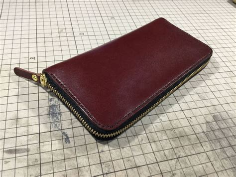 free pattern for zippered wallet round zipper wallet with pattern all
