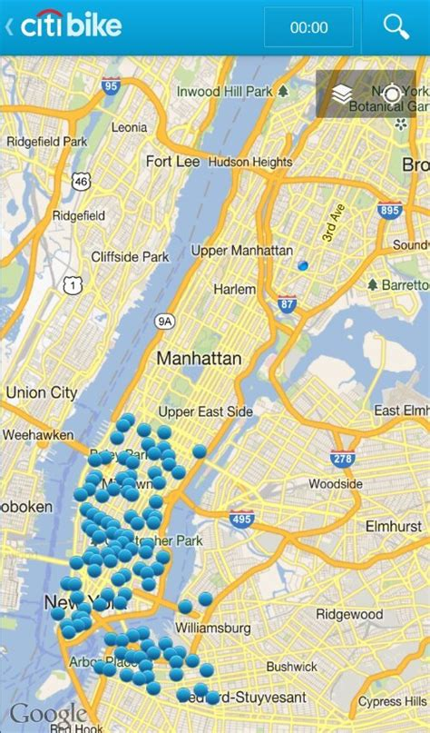 citibike map the most map you ll see in nyc courtesy of citibike welcome2thebronx