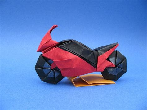 Origami Bicycle - bikes and origami on