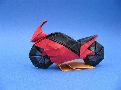How To Make An Origami Bike - origami bike 2 impressive origami origami