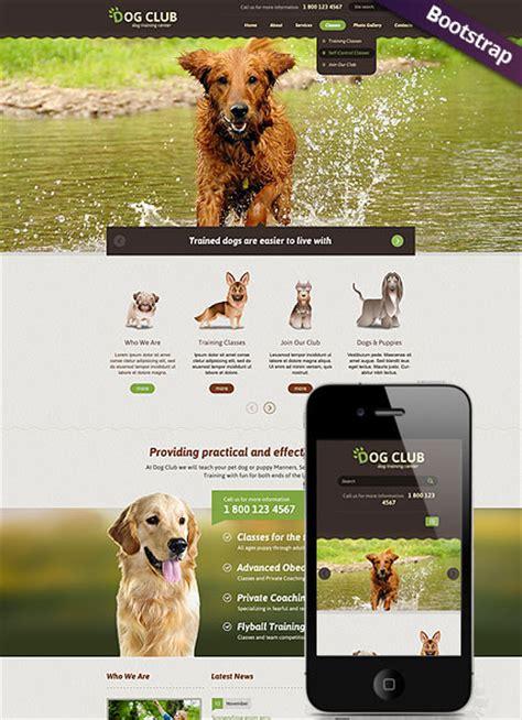 websites to buy puppies club html website template best website templates
