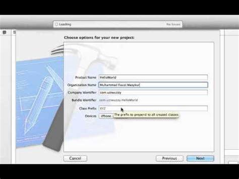 membuat aplikasi ios dengan xcode 1 tutorial membuat aplikasi ios 7 download xcode 5 dan