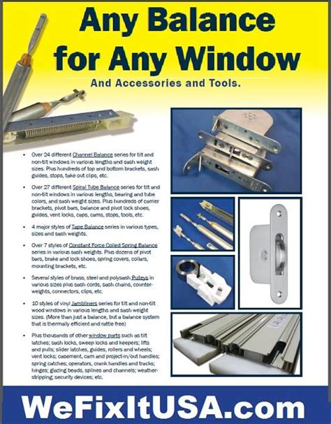Sash Windows Repair Window Sash Balance Spring Window Balance Jamb Liner