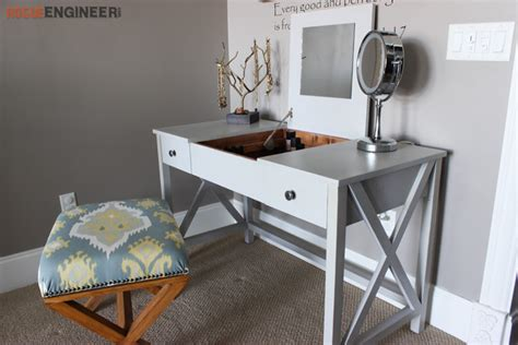 flip top vanity  diy plans rogue engineer