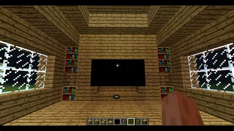 how to build a tv minecraft how to make a tv youtube