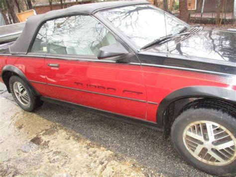 books on how cars work 1986 pontiac sunbird user handbook 1986 pontiac sunbird gt turbo convertible two tone very rare for sale pontiac sunbird 1986 for