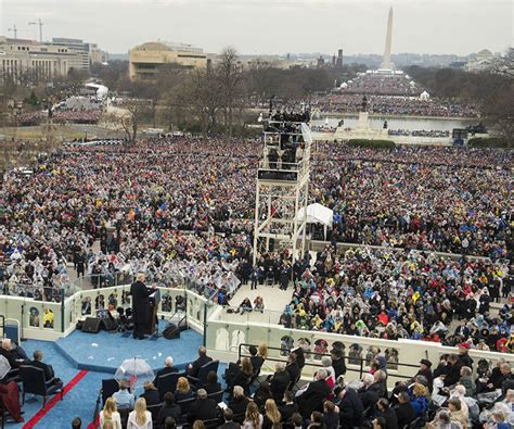picture of inauguration crowd washpost trump pressured park service to release more