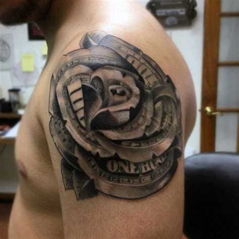mens rose shoulder tattoo 26 best tetk 243 images on designs