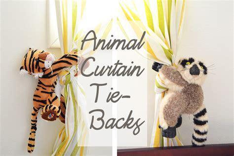safari curtain tie backs homan at home