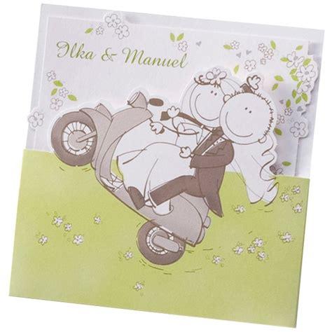 Hochzeitseinladung Comic Brautpaar by Hochzeitseinladung Quot Martha Quot Comic Brautpaar Nach Der