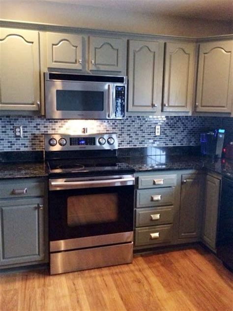 Painted Oak Kitchen Cabinets Best Kitchen Before And Afters 2014 Honey Oak Cabinets Granite Countertops And Countertops