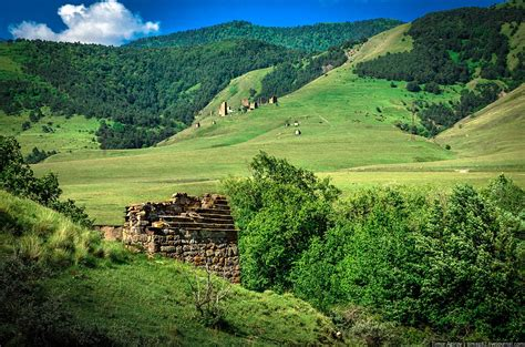 beautiful in russian the beautiful scenery of the mountain ingushetia 183 russia