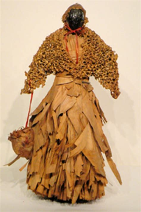 importance of corn husk dolls platt american antiques