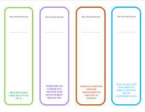 book marker template printable bookmarks with quotes quotesgram
