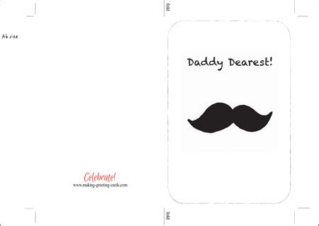 printable necktie greeting card template happy fathers day card template www pixshark