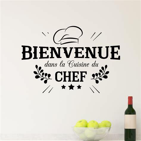 cuisine du chef sticker bienvenue cuisine du chef stickers cuisine