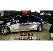 ALL CHROME BMW 745Li On 22 Forgiatos  1080p HD YouTube