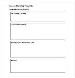 Substitute Lesson Plan Template by Lesson Plan Template Free Word Documents