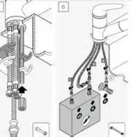 wasserhahn einbauen anleitung wasserhahn montieren wackelt seite 2